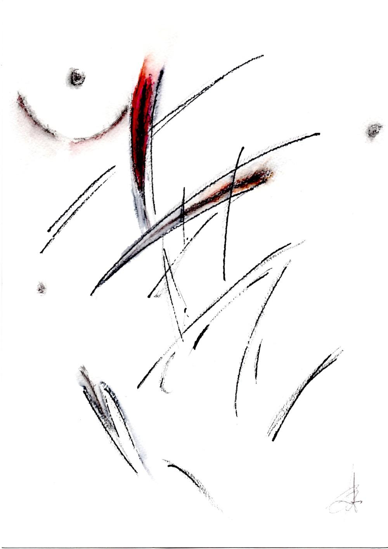 Paolo Emilio Benvenuti, Floating lines in search of an emotion, Linee fluttuanti in cerca di un'emozione